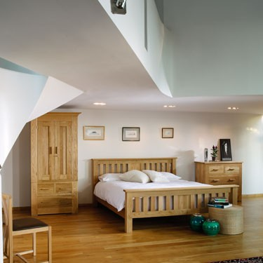 Quercus solid oak bedroom furniture