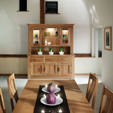 Quercus solida oak sideboards and dining room furniture