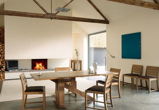 Quercus contemporary oak dining tables