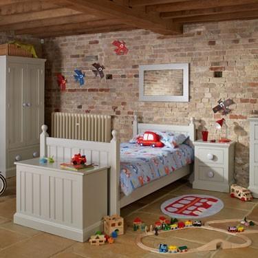 Painted children's bedroom furniture