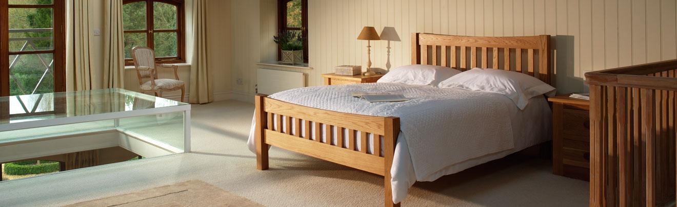 Quercus Contemporary Solid Oak Bedroom Furniture