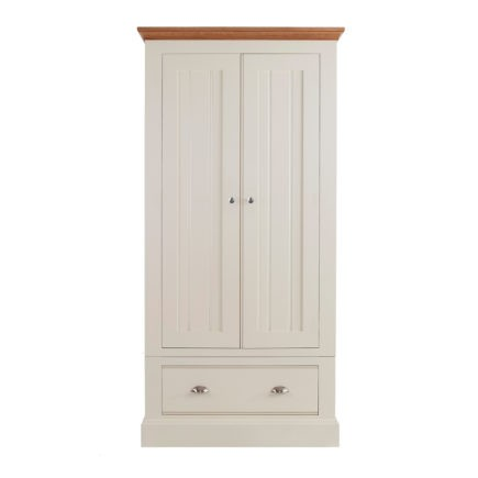 Impello ivory painted bedroom furniture all having ladies wardrobe