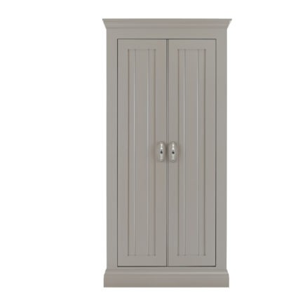lusso grey painted wardrobes 0.9 all hanging