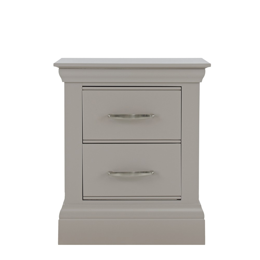 Lusso Painted Bedroom Furniture Small Bedside Table