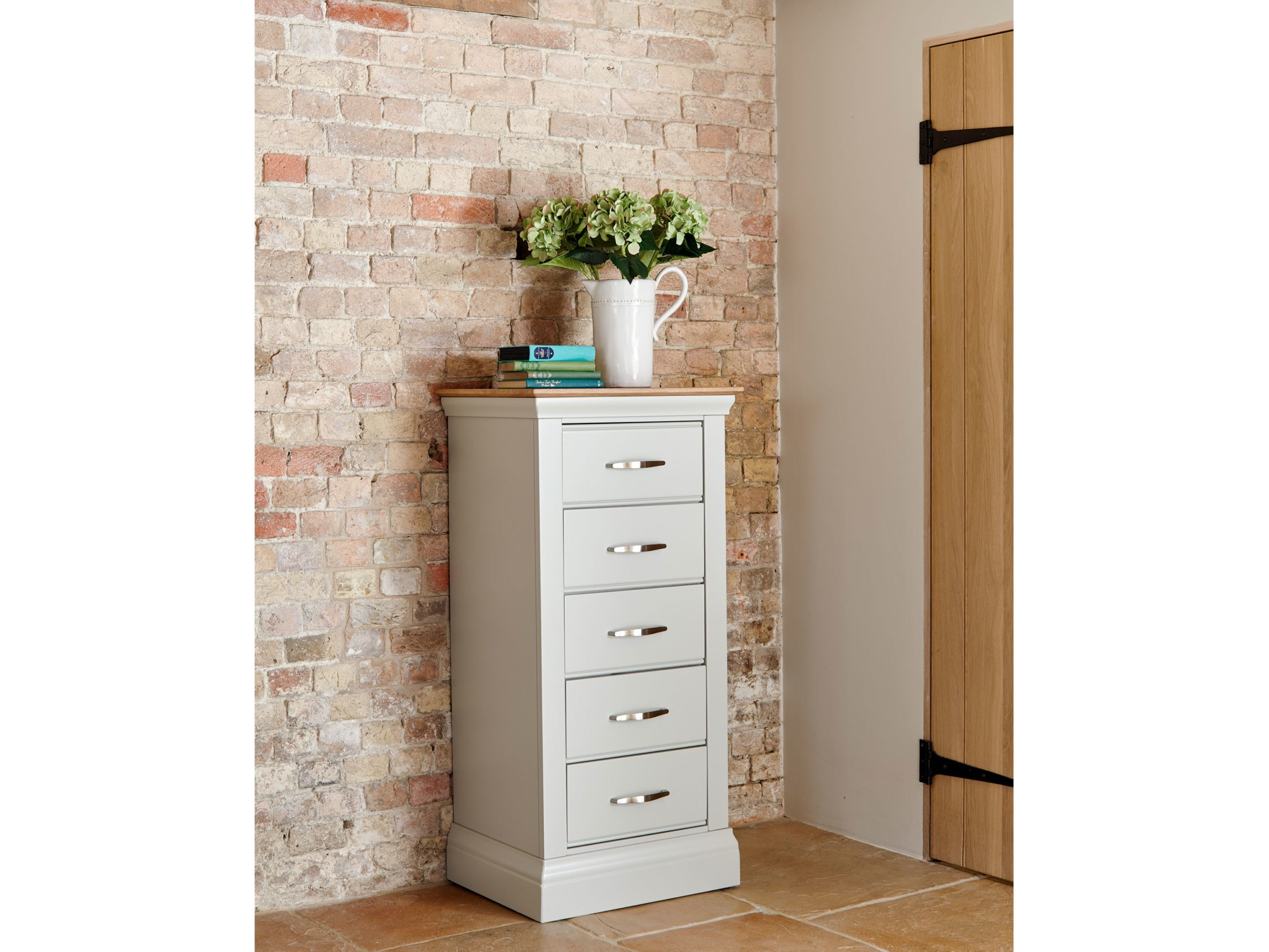 Lusso Customisable Large Painted 4-3 Chest of Drawers