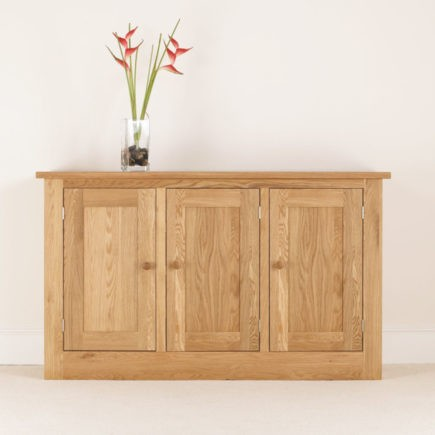 quercus oak side board
