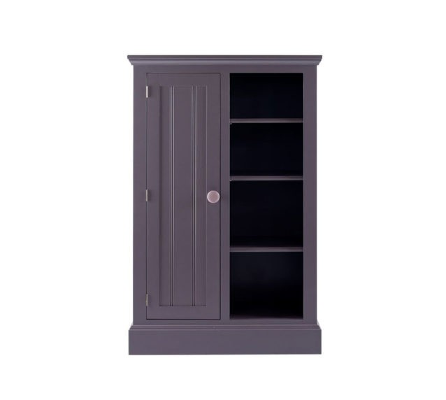 Children's bedroom furniture wardrobe with bookcase