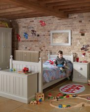 Freya Land Children S Painted Furniture Bedside Table Con Tempo Furniture
