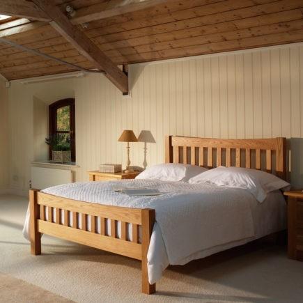 quercus oak bedroom furniture oak oxford bed