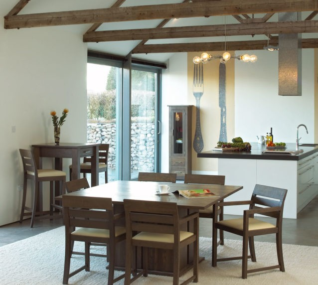 quercus contemporary oak dining room furniture square oak tables