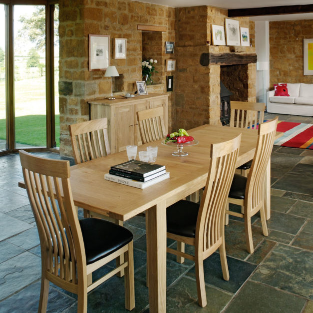 quercus dilid oak extending dining room tables made in the uk