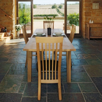 quercus solid oak dining room tables