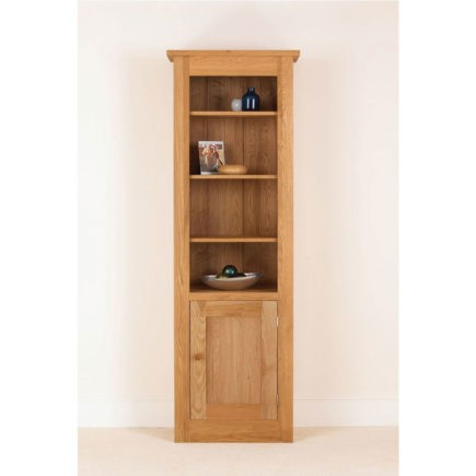quecus oak cabinet with half door