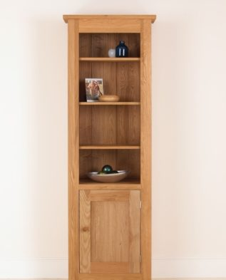 Quercus Solid Oak Panelled Cabinet