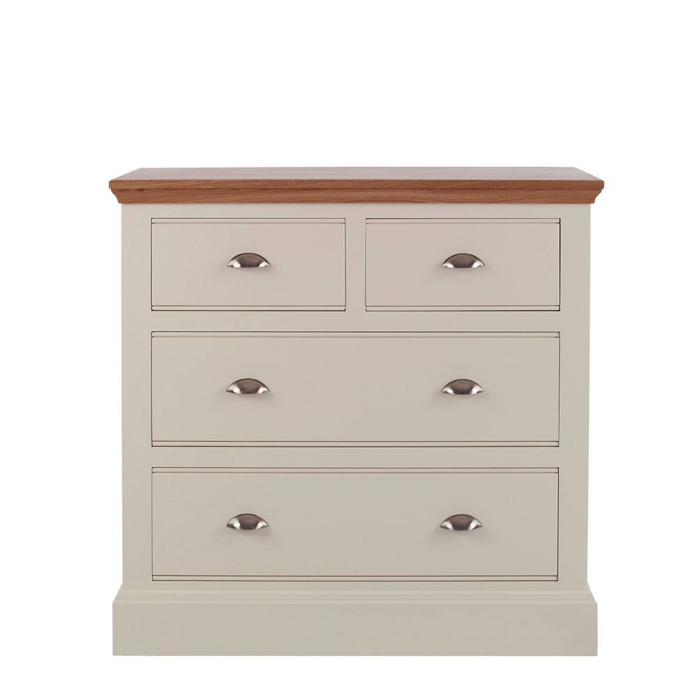 Impello Painted 2 2 Chest Of Drawers Con Tempo Furniture