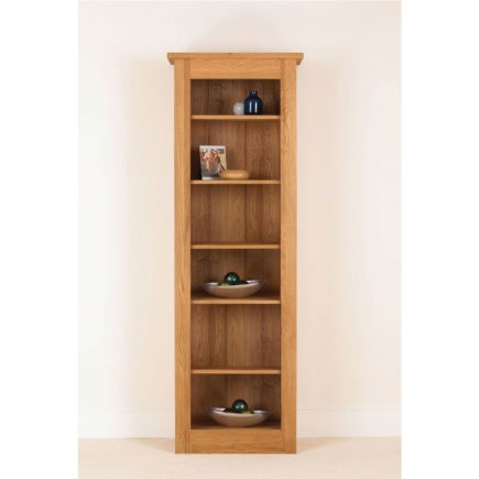 quercus solid oak bookcase 78-26