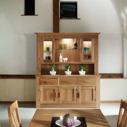 quercus solid oak sideboards large sideboard and top