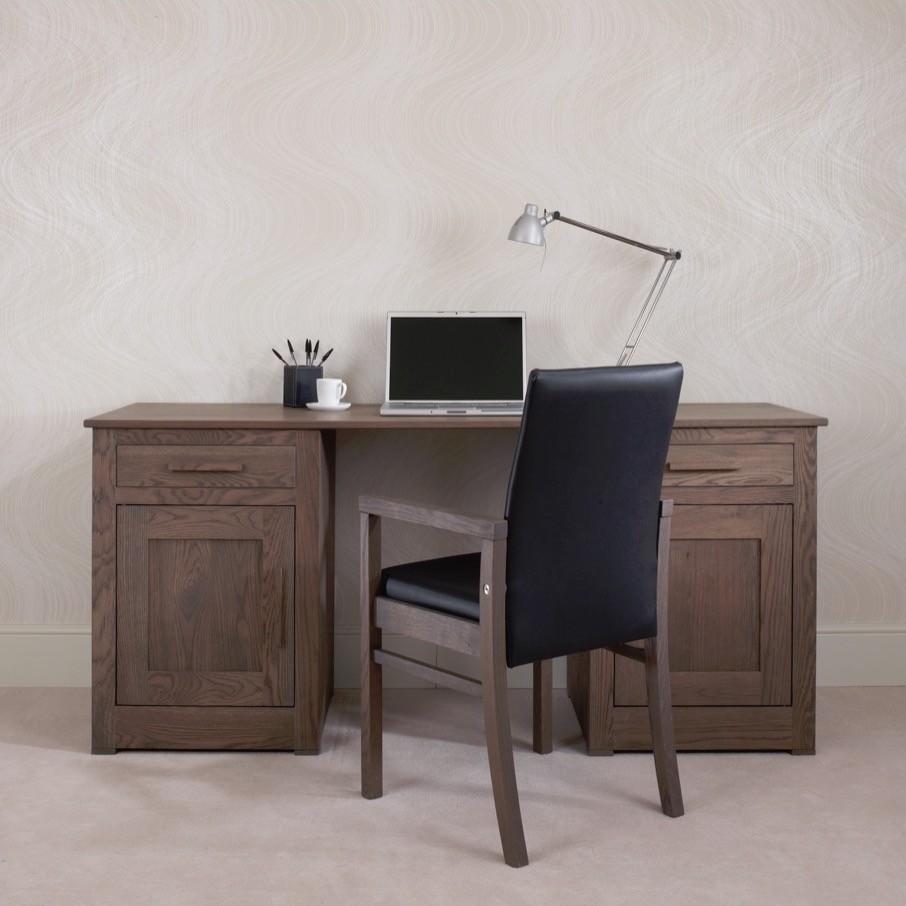 Ora Mixed Oak Office 1.8m Desk