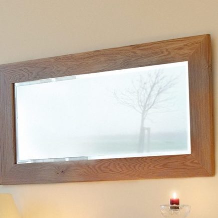 quercus oak wall mirrors