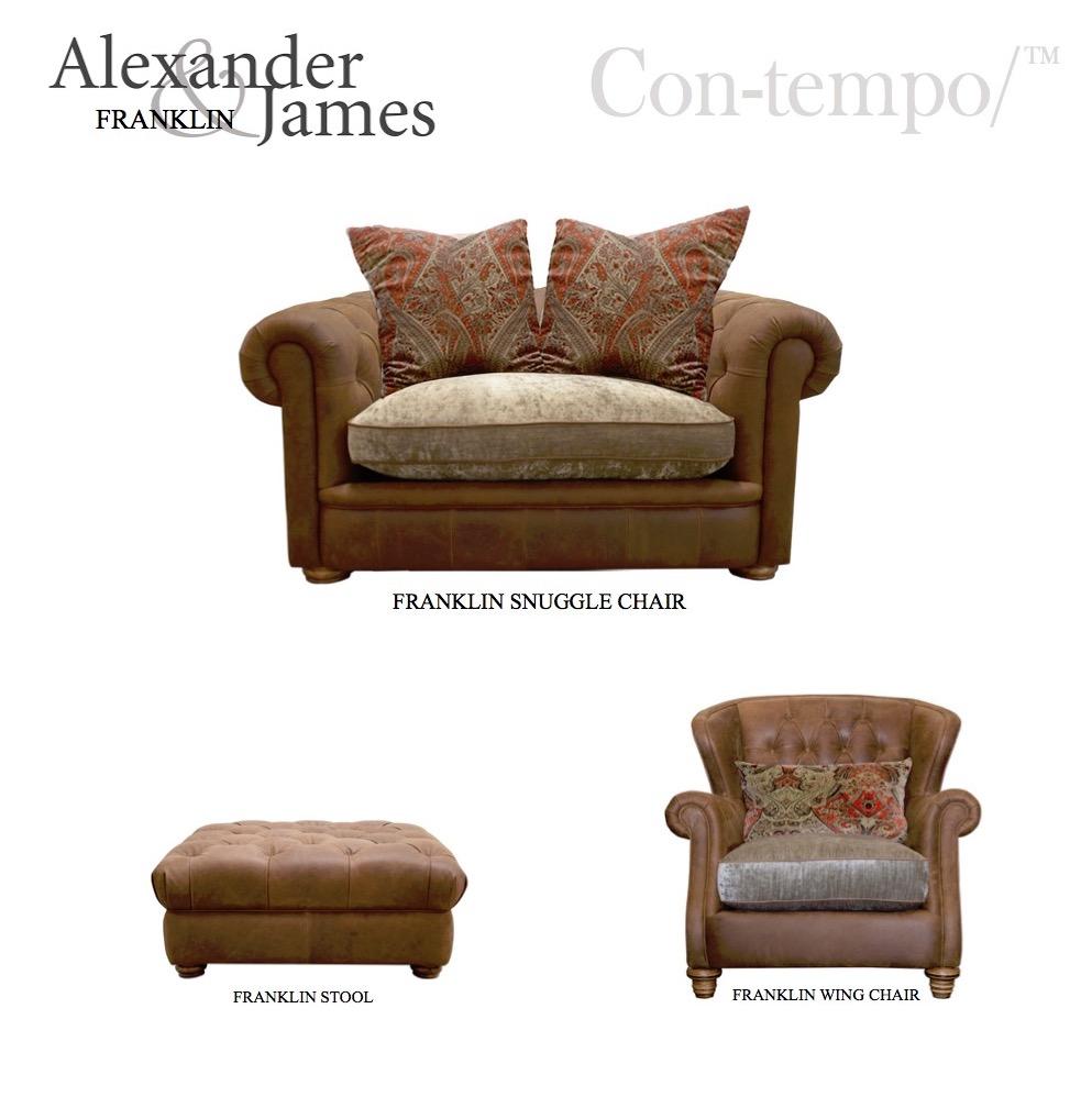 Franklin Snuggle Chair Con Tempo Furniture