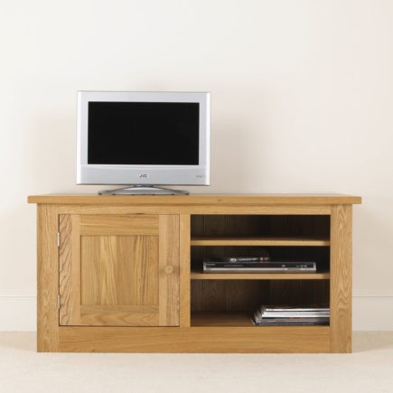 quercus solid oak TV units