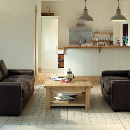 Quercus solid oak coffee tables