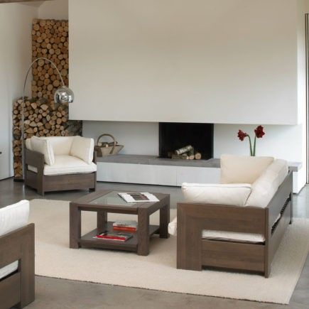 quercus oak coffee tables with glass tops