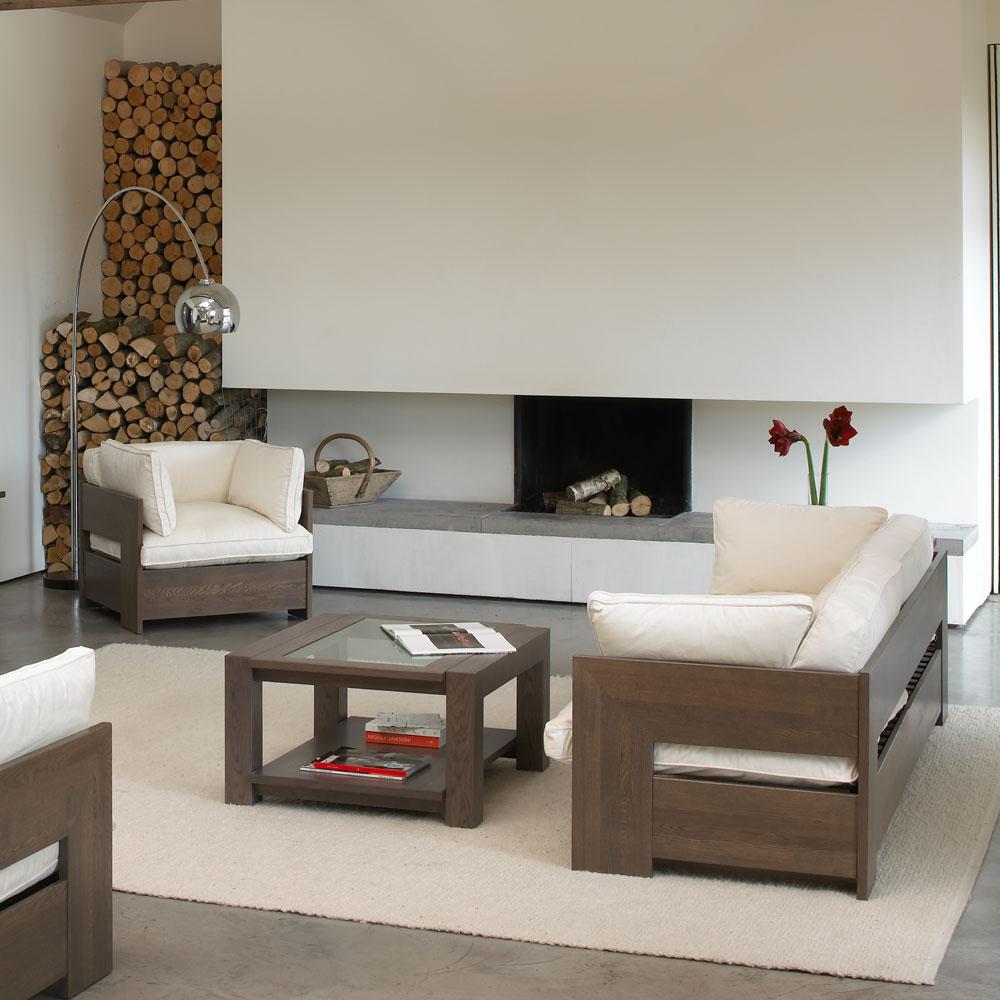 Como Coffee Table With Glass Top Con Tempo Furniture