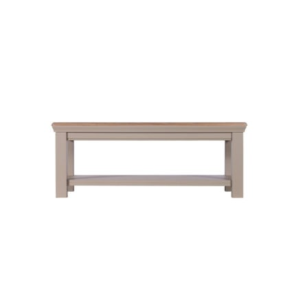 Lusso painted coffee tables grey painted coffee tables with oak tops