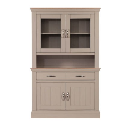 Lusso grey painted small dessert and glazed rack