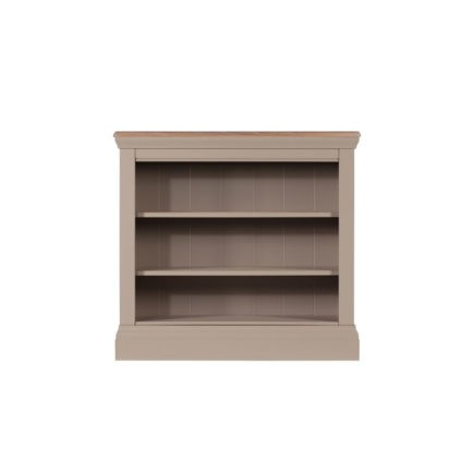 Lusso grey painted bookcase
